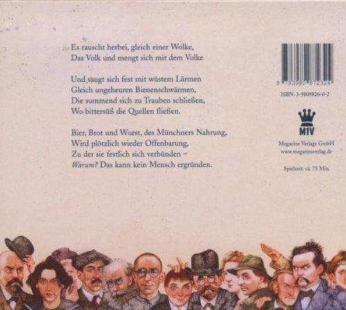 Bild 2: Auf geht's zur Wiesn! (2004), Ein Oktoberfestspaziergang mit Karl Valentin, Sigi Sommer, Eugen Roth, Gerhard Polt u.a.