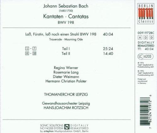 Bild 2: Bach, Kantaten BWV 198 Thomanerchor Leipzig, Hans-Joachim Rotzsch
