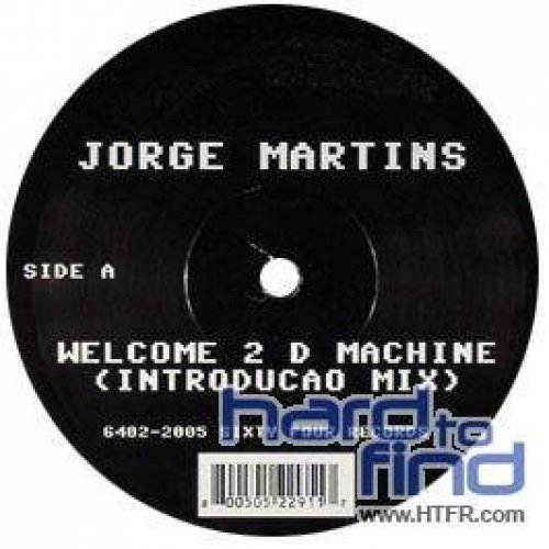Bild 1: Jorge Martins, Welcome 2 d machine