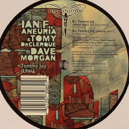 Bild 2: Ian F., Tommy Joy (& Aneuria & Tomy DeClerque ft. Dave Morgan; #jly014)
