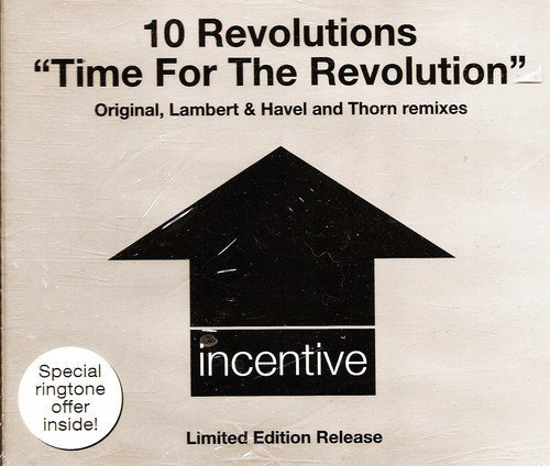 Bild 1: 10 Revolutions, Time for the revolution (Lambert & Havel 'Get out of the Jail 2003'/Thorn Remixes/Orig. Mix)